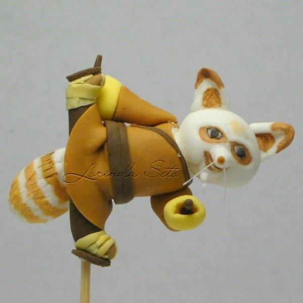 Shifu from Kung Fu Panda porcelana fria polymer clay
