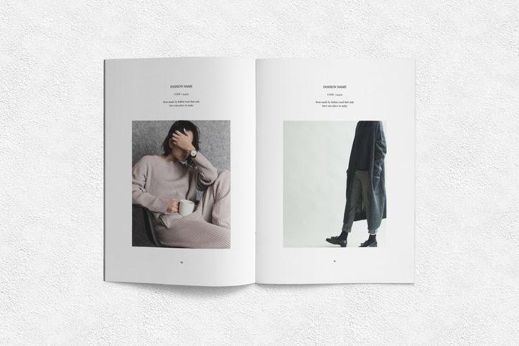 Lookbook by Ahsanjaya on creativemarket Brochure design