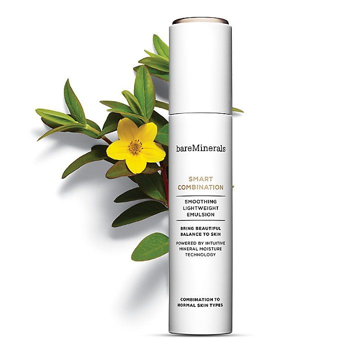 bareminerals facial moisturizer: SMART COMBINATION Smoothing Lightweight Emulsion for combination to normal skin types