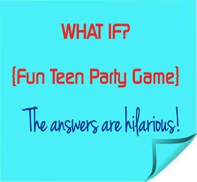 Fun Teen Party Game