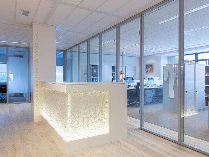 Soft lighting with 3form casework