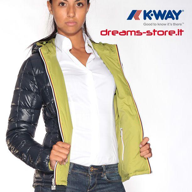 Dreamstore LILY THERMO PLUS DOUBLE (K002110 C89) il nuovo piumino reversibile di K-WAY #dreamstore #totallook #fashion #jackets #shoes #sneaker #caps #bracelet #instaday #instafashion #picoftheday #fashiononweb #fw2013_2014 #fallwinter