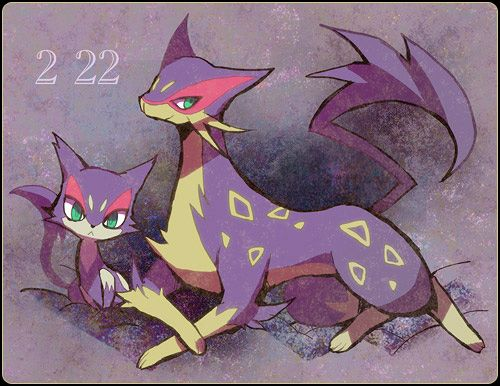 pokemon, purrloin, and liepard Bild