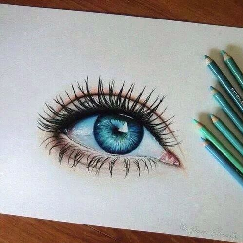 Best 25 eye drawings ideas on pinterest how to draw eyes an eye drawing i made in a few hoursi used prismacolor pencils and canson mi teintes paper ccuart Choice Image