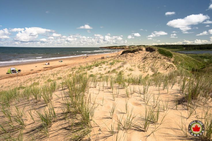 Cavendish Beach. Read more about our time visiting PEI National Park.