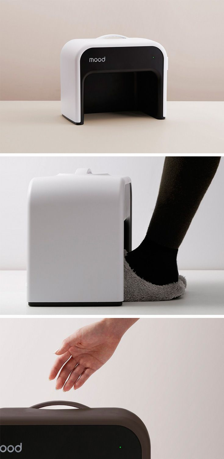 The Mood foot warmer seems like the perfect product to kill the chill.