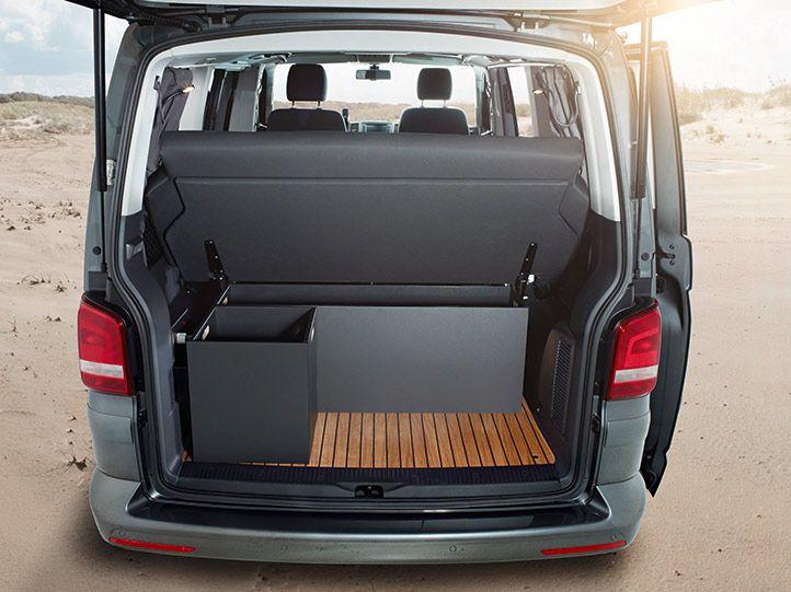 vw t5 multivan mit stauboxen seyahat vw bus camper. Black Bedroom Furniture Sets. Home Design Ideas