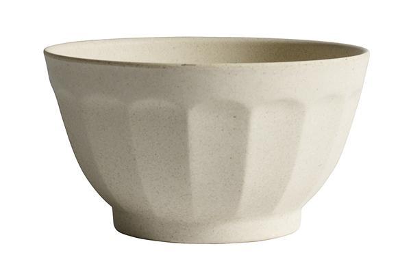 Bamboo Bowl, Creme