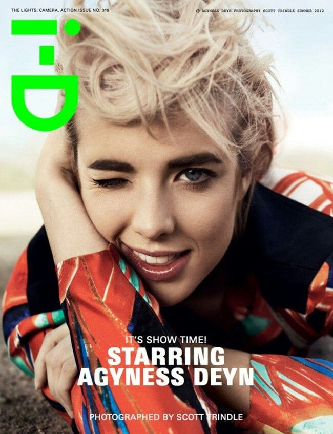 agyness again for i-D