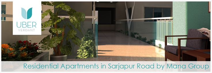 Buying a home is the dream that anyone want to change into reality and this will be happened only when living place provides pleasant surroundings& environment. Mana Group, a leading Real Estate firm in Bangalore has developing its new Residential Apartments in Sarjapur Road, namely Uber Verdant. It has been planned with the purpose of satisfying your dream of buying a home where you can enjoy life with full of joy.