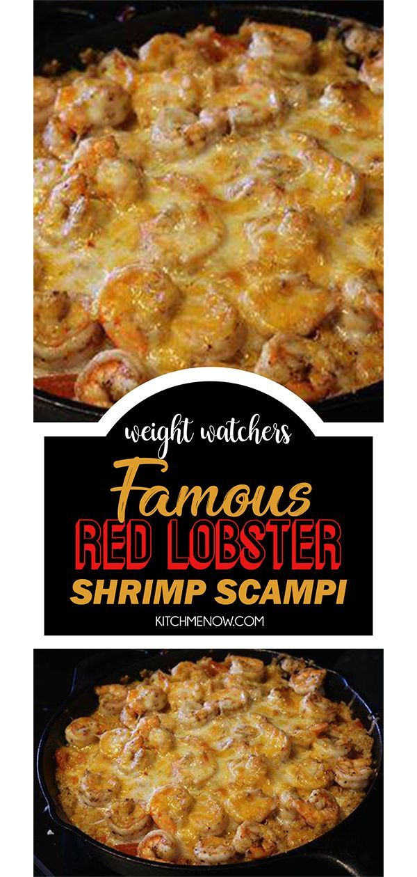 Famous Red Lobster Shrimp Scampi #weigtwatchers #weight_watchers #famous #red #l…