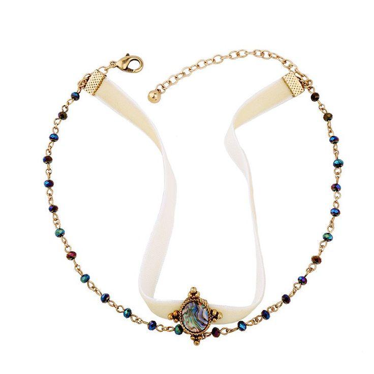 Heartley Love Jewelry $14.99 Multi Layer Beaded Velvet Choker Necklace