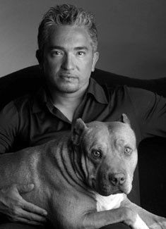Cesar Millan with Daddy...
