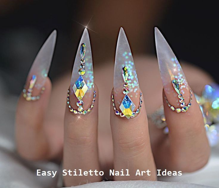 30 große Stiletto Nail Art Design-Ideen #nailideas – Stiletto Nails