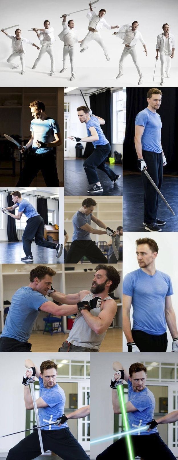 J.J. Abrams...hint hint... Tom Hiddleston is already a Jedi Master... what are you waiting for?