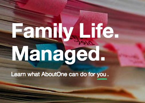 AboutOne makes it easy to manage and organize your busy family's life.
