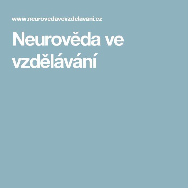 Neurověda ve vzdělávání