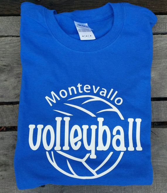 Personalized Volleyball Team Shirt Monogram by BeachyMommas