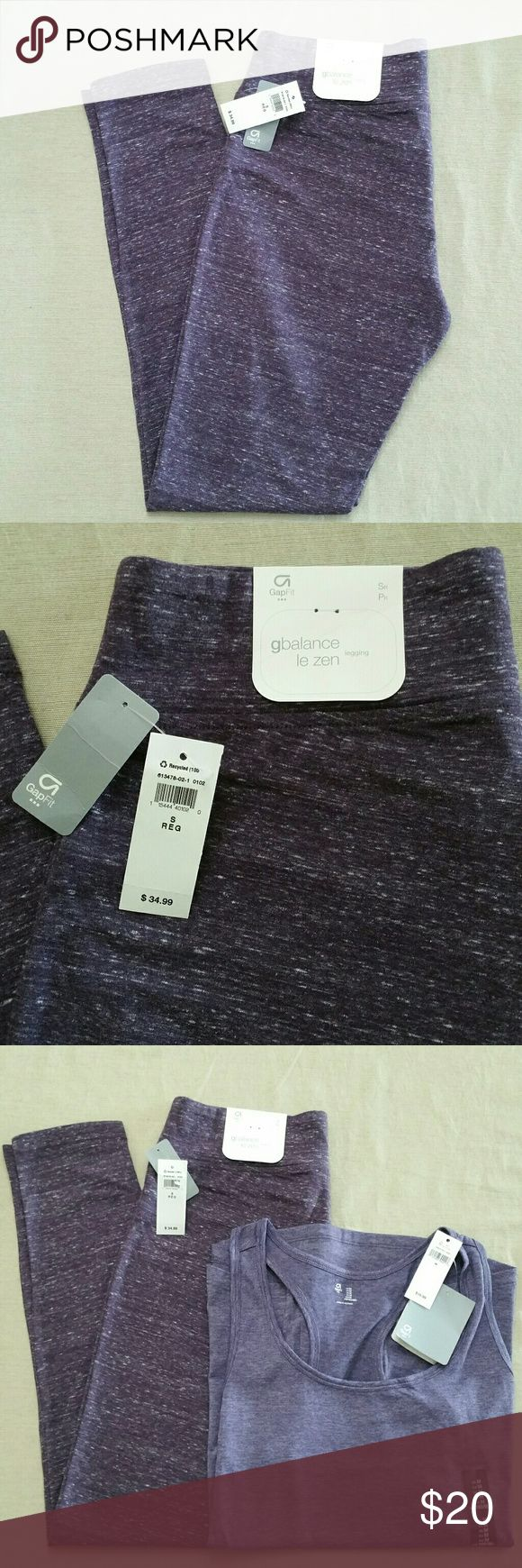 Gap Workout Leggings From The GapFit collection Regular rise, fitted through the hip and thigh, skinny leg. GAP Pants