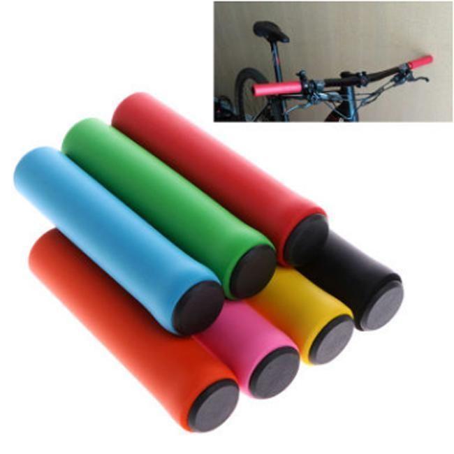 Children/'s Kid Bikes Handle Grips Anti-slip Plastic Bicycle Handlebars Bars Grip