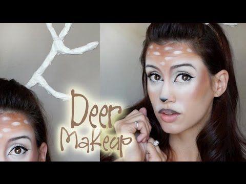 And I found my makeup... Doe, A Deer, A Female Deer! - Halloween Makeup Tutorial 2013 - YouTube