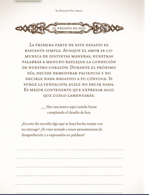 LIBRO EL DESAFÍO DEL AMOR (DEL VIDEO A PRUEBA DE FUEGO) - Edificación para el Pueblo de Dios. Predicaciones, Sermones y Alabanzas