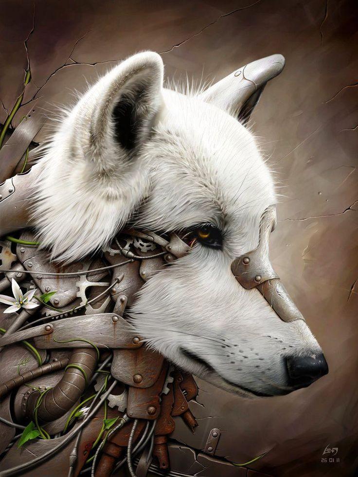 mechwolf in 2020 Drawings, Wolf tattoos, Wolf deviantart