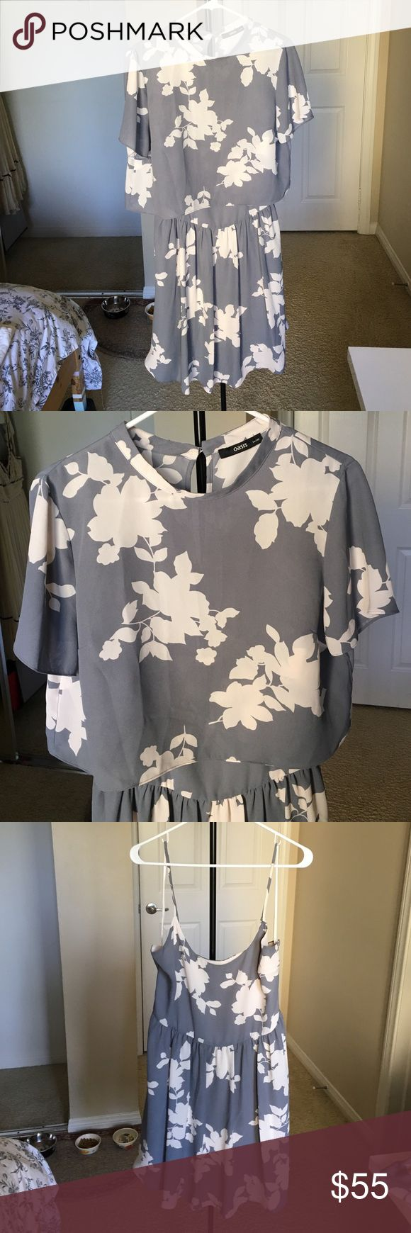 Asos summer dress (2 piece) Only worn once! Top and dress separate. Fits smaller than tag. Willing to PP/Venmo. ASOS Dresses Mini