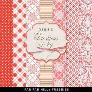 Far Far Hill: Freebies Kit of Christmas Paper