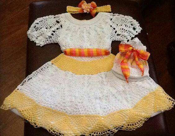 2062 besten Baby Kleider Bilder auf Pinterest | Häkeln, Kleidung und ...