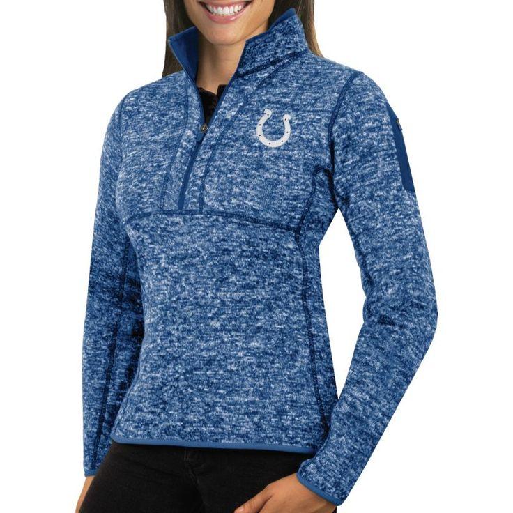 Antigua Women's Indianapolis Fortune Blue Pullover Jacket, Size: Medium, Team
