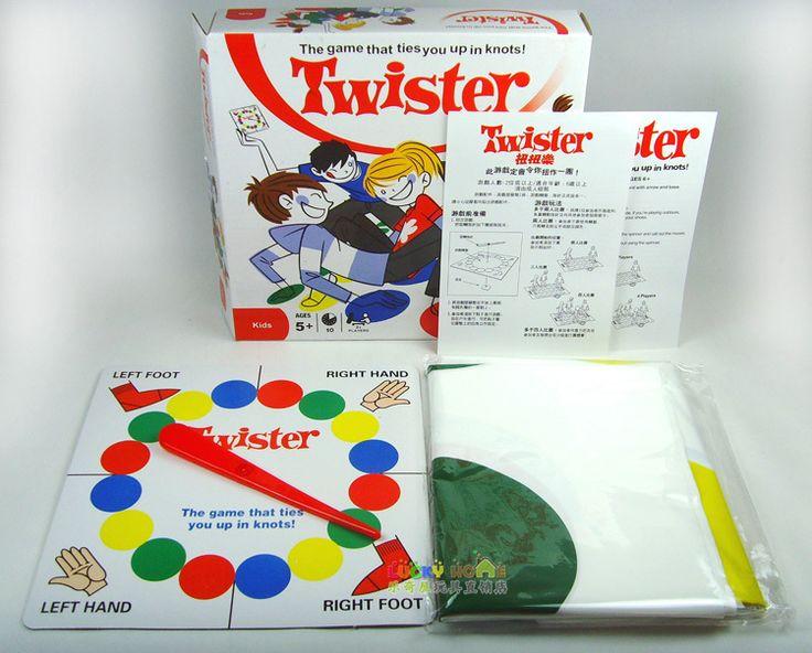 Hot penjualan papan permainan, klasik Twister Permainan Papan Permainan Yang Mengikat Anda Di Knot