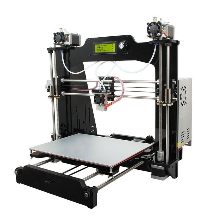 470.10$  Buy here - http://alivk7.worldwells.pw/go.php?t=32779786652 - Geeetech Prusa I3 M201 3D printer DIY kit 2-in-1-out version With LCD controller Best price High Precision tools 470.10$