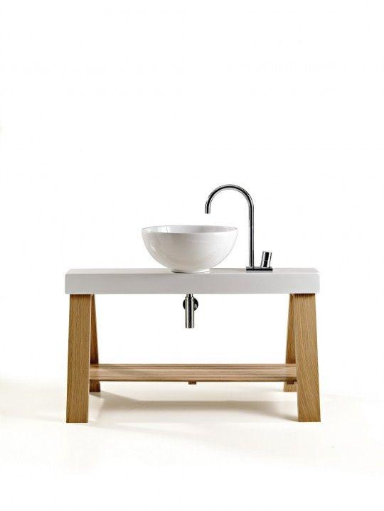 17 best images about products on pinterest corks wall for Meuble vasque salle de bain original