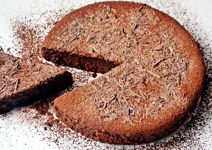 Gluténmentes eszpresszós csokitorta