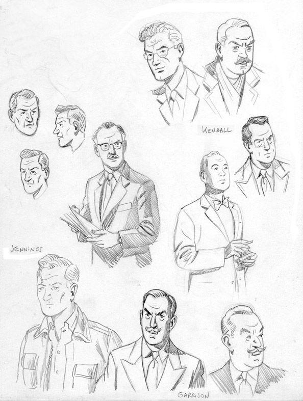 1992-L-affaire-recherches-personnages Ted Benoit