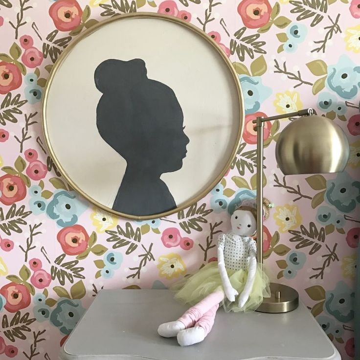 $3 DIY Large Silhouette Art