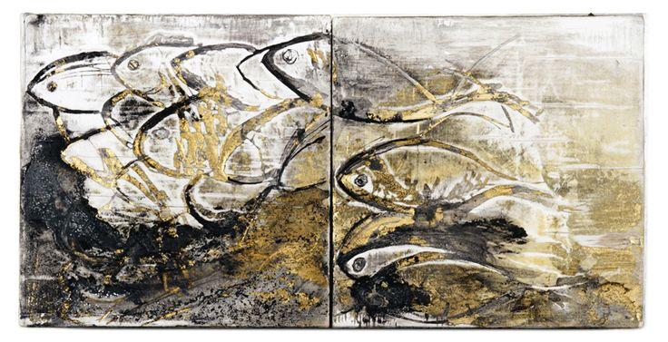 Fuga (wood incision, 2010) | by Beatrice Zagato | figurative art