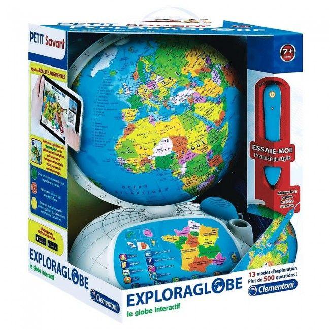 Clementoni - Petit savant Globe interactif - Castello | Jeux et Jouets