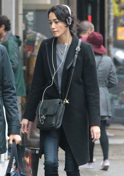 Sandrine Holt Pictures Sandrine Holt Takes a Stroll in NYC -
