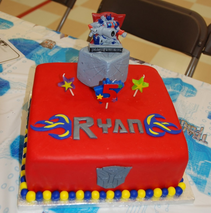 boys birthday cakes images | Cake Creations by Trish: Transformers birthday cake!