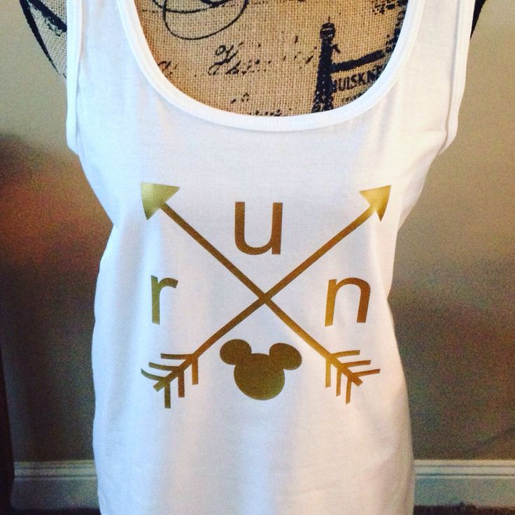A personal favorite from my Etsy shop https://www.etsy.com/listing/384984620/rundisney-inspired-arrow-shirt