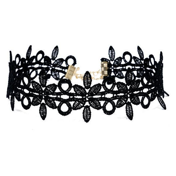 Always Alluring Black Lace Choker Necklace ($15) ❤ liked on Polyvore featuring jewelry, necklaces, black, heart shaped necklace, sexy necklace, heart-shaped jewelry, heart choker and long necklace