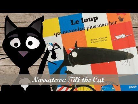 Le loup qui voulait être un artiste, de Orianne Lallemand et Éléonore Thuillier (Auzou) - YouTube
