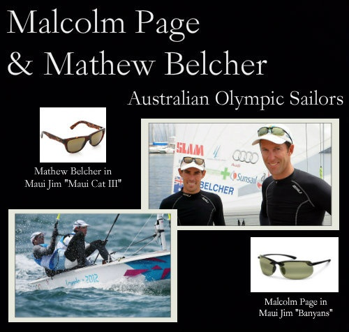 GET THEIR LOOK: MALCOLM PAGE & MATHEW BELCHER in MAUI JIM