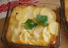 Pastel de salmón y patatas al horno. Suecia