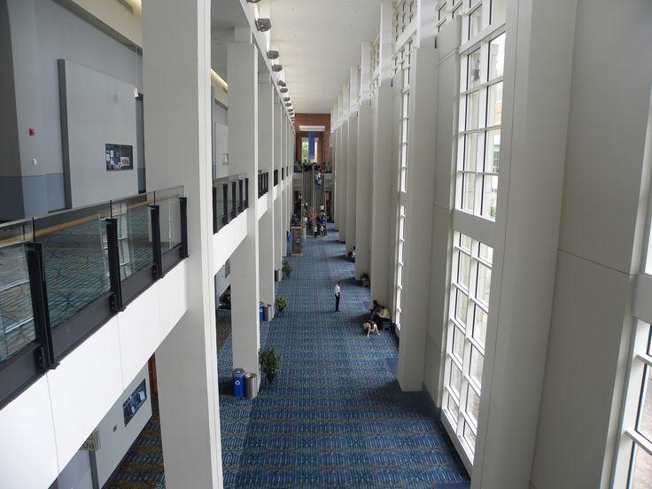 Greater Richmond Convention Center Exhibit Hall Foyer.