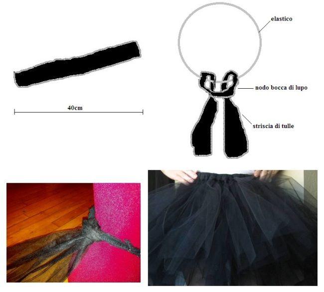 Costume di Carnevale Cigno Nero