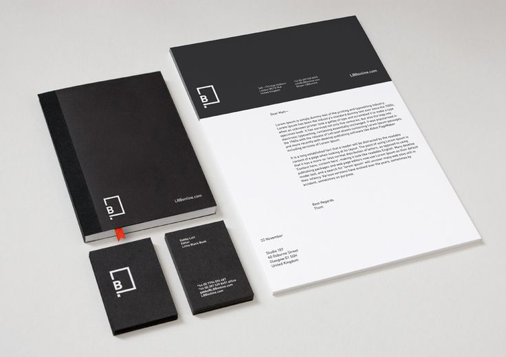 Little Black Book | Designer: Berg - http://www.bergstudio.co.uk