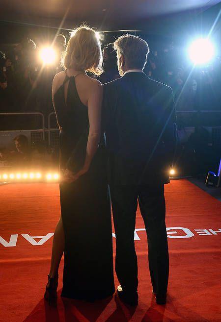 Tras celebrar San Valentín en Roma, la pareja voló a Londres para acudir al estreno de la nueva película de Sean Penn
